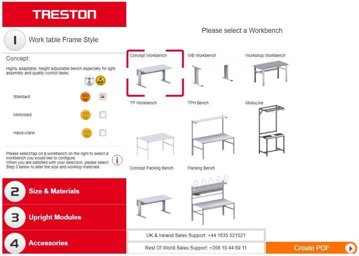 Outstanding 3D Configurator Workspace Design Treston Evergreenethics Interior Chair Design Evergreenethicsorg