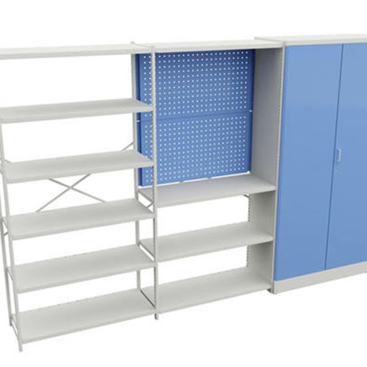 Industrial Shelves And Cabinets Treston